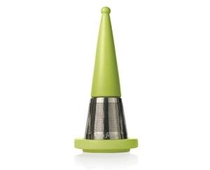 露思錐型茶葉濾器-草綠 Luci Loose Tea Infuser Green