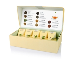 10入 - 饗茶集錦 Petite Presentation Box - Tea Tasting Assortment