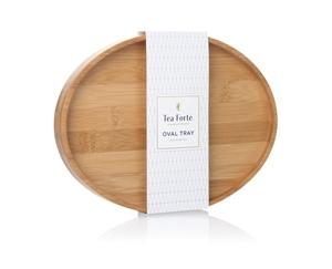 橢圓竹製茶托 Oval Tray